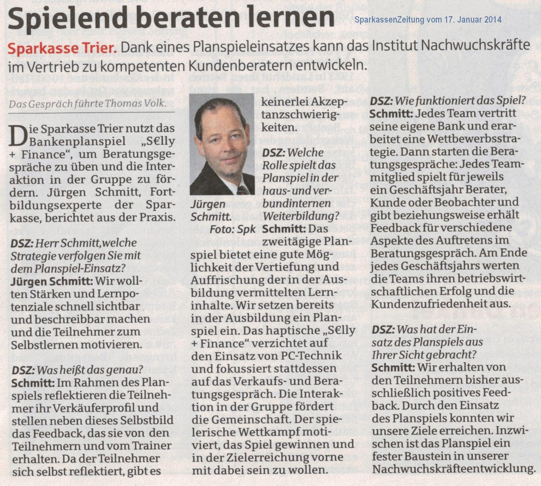 Interview SPK Trier