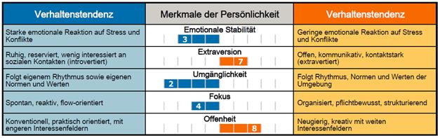 Big 5 Persönlichkeitsinventar - Thomas Kiefer ZeitWeise